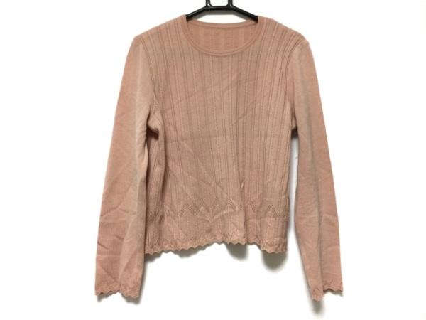 ROCHAS(ロシャス) 長袖セーター サイズ11 M レディース ベージュ