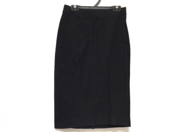 three dots(スリードッツ) スカート サイズS レディース 黒