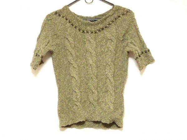 INGEBORG(インゲボルグ) 長袖セーター サイズS レディース グリーン
