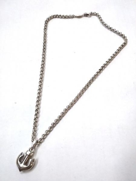 Clioblue(クリオブルー) ネックレス美品  シルバー いかりモチーフ