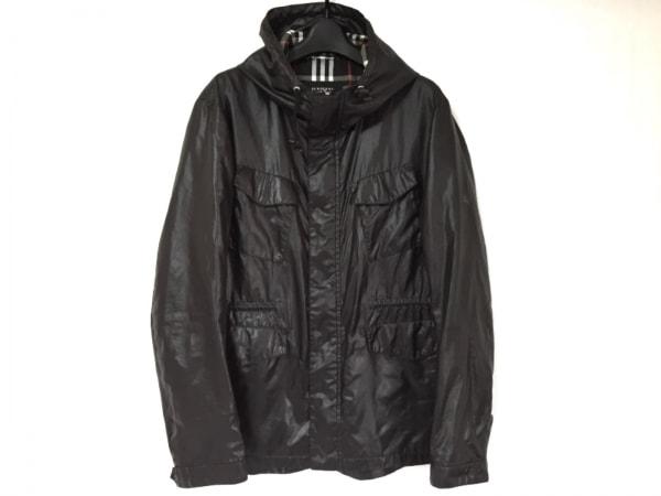 Burberry Black Label(バーバリーブラックレーベル) ブルゾン サイズL メンズ 黒
