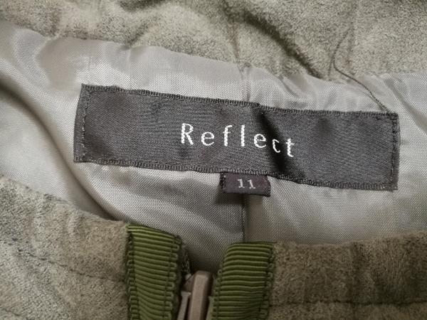 ReFLEcT(リフレクト) ダウンコート レディース ダークグリーン×カーキ