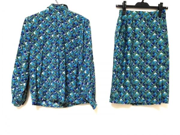 JUN ASHIDA(ジュンアシダ) スカートセットアップ レディース美品  シルク/ハイネック