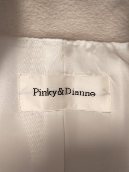 Pinky&Dianne(ピンキー&ダイアン) コート サイズ38 M レディース アイボリー 冬物