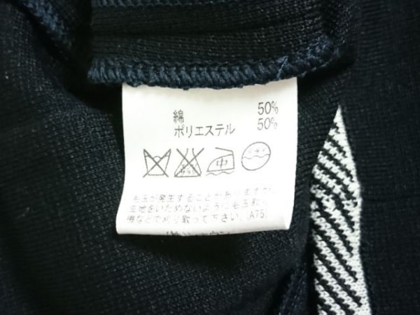 Aquascutum(アクアスキュータム) ジャケット サイズ13 L レディース 黒×白