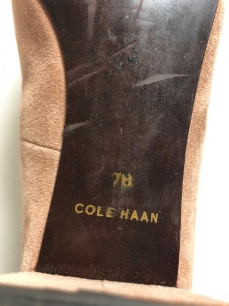 COLE HAAN(コールハーン) パンプス 7B レディース ピンクベージュ スエード