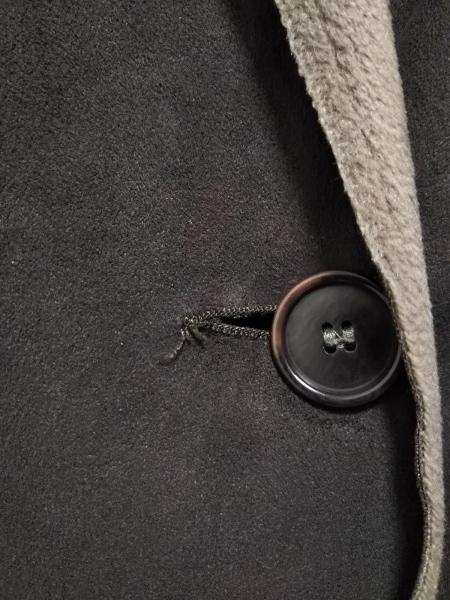 マリナリナルディ コート サイズ17 XL レディース ダークブラウン×ベージュ