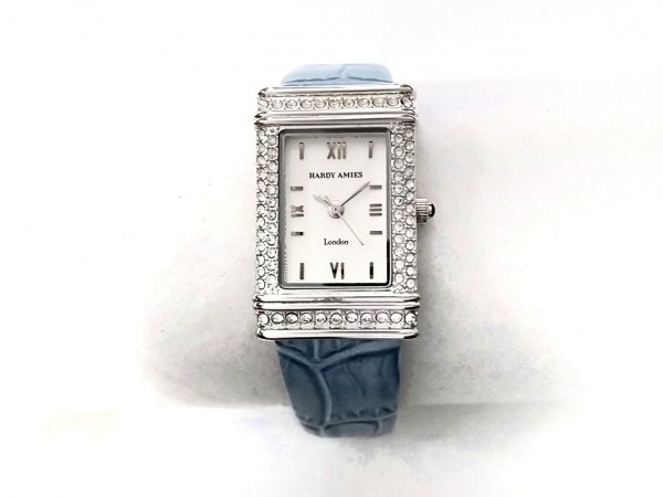 HARDY AMIES(ハーディエイミス) 腕時計 HA-1901 レディース 白