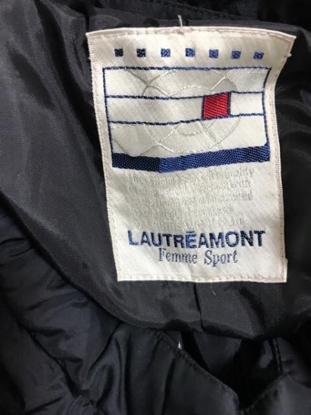 ロートレアモン コート サイズ2 M レディース美品  黒 ジップアップ/冬物/FemmeSport