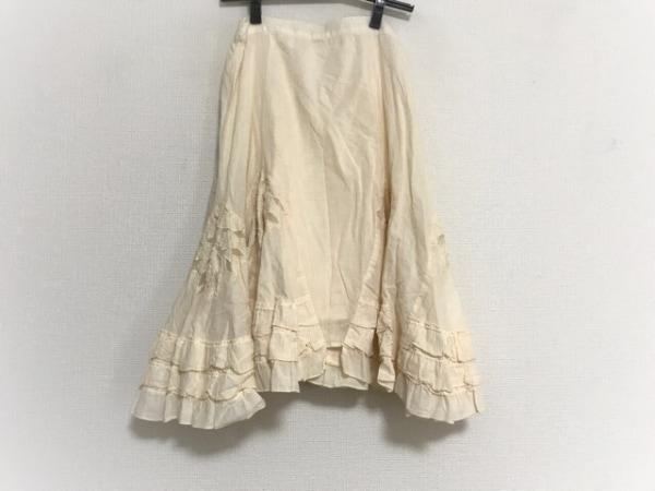 COCUE(コキュ) スカート サイズ02 M レディース アイボリー フリル