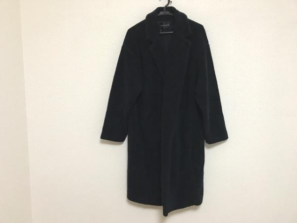 mizuiro  ind(ミズイロインド) コート レディース ネイビー 春・秋物