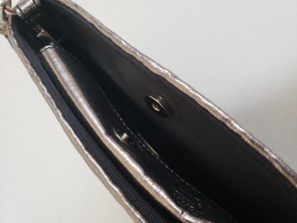 MAMUZ(マミューズ) ハンドバッグ ゴールド×黒 ミニサイズ ワイヤー