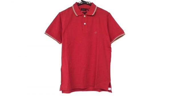 VALENTINO ROMA(バレンチノローマ) 半袖ポロシャツ サイズS レディース美品  レッド