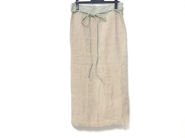 パラスパレス トオカ 巻きスカート サイズ0 XS レディース美品  ベージュ