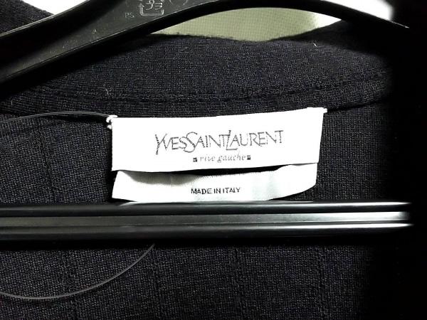 イヴサンローランリヴゴーシュ スカートスーツ サイズL レディース 黒