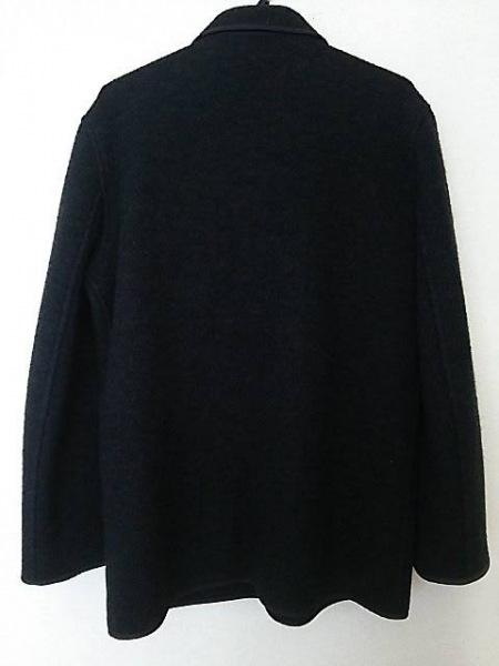 agnes b(アニエスベー) コート サイズ1 S メンズ ダークグレー×黒 冬物