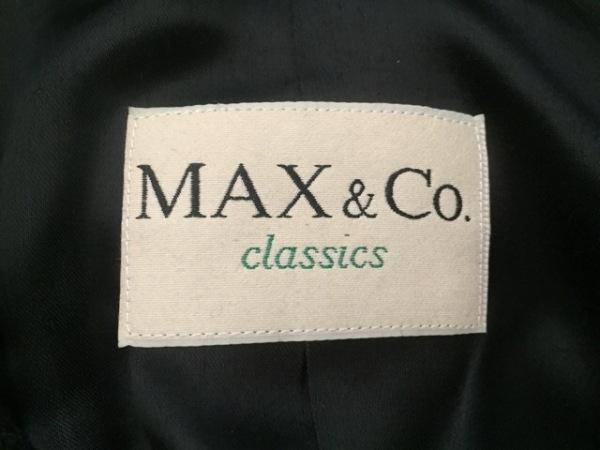 MAX&CO.(マックス&コー) コート サイズJ(40) レディース 黒 冬物/classics