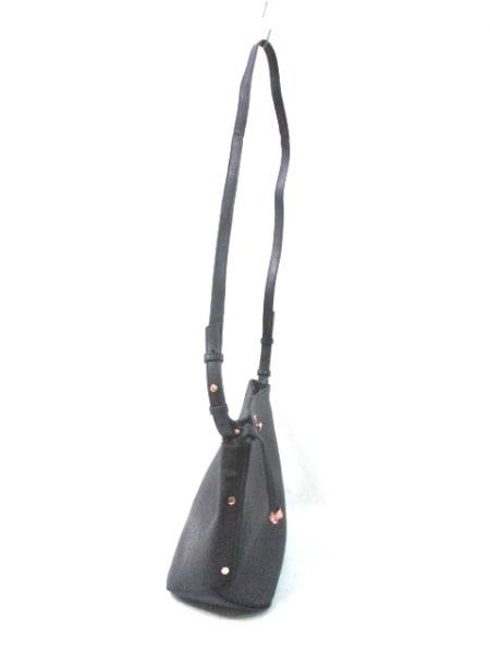 RADLEY(ラドリー) ショルダーバッグ美品  黒 型押し加工 レザー