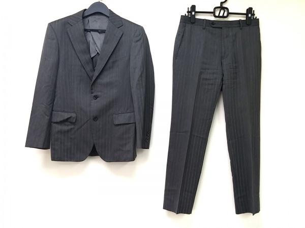 Platinum COMME CA(プラチナコムサ) シングルスーツ サイズ44 L メンズ グレー