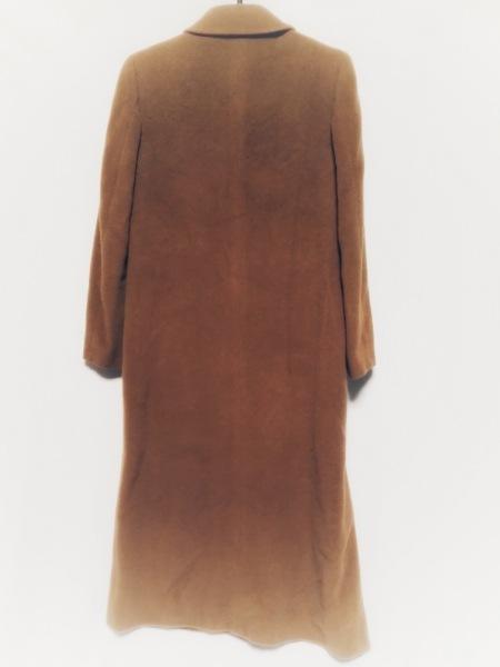 23区(ニジュウサンク) コート サイズ38 M レディース ブラウン 肩パッド/冬物