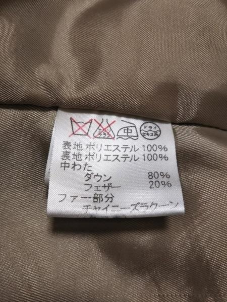 ROPE(ロペ) ダウンコート サイズ9 M レディース ベージュ 冬物