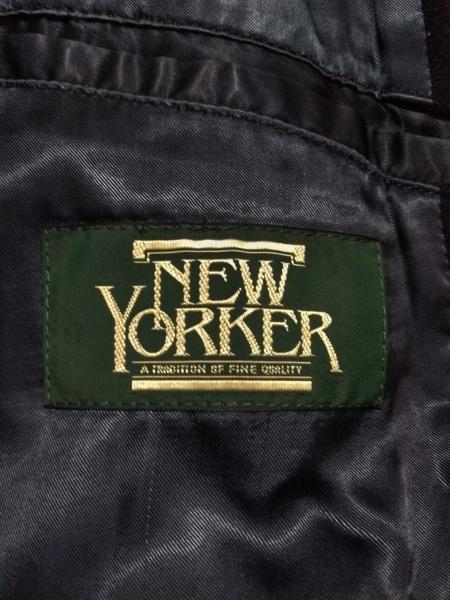 NEW YORKER(ニューヨーカー) コート メンズ 黒 冬物
