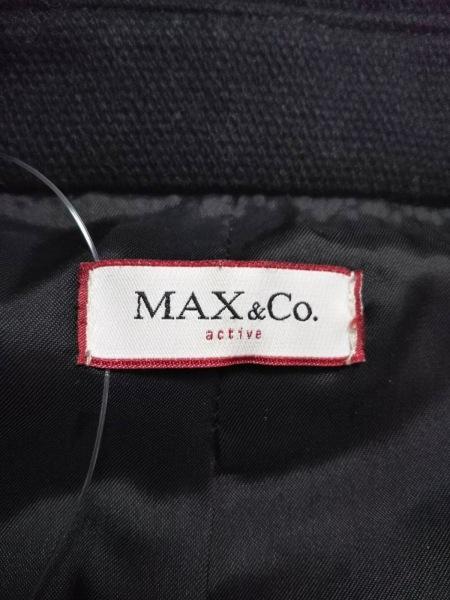 MAX&CO.(マックス&コー) コート サイズ42 M レディース美品  黒 冬物