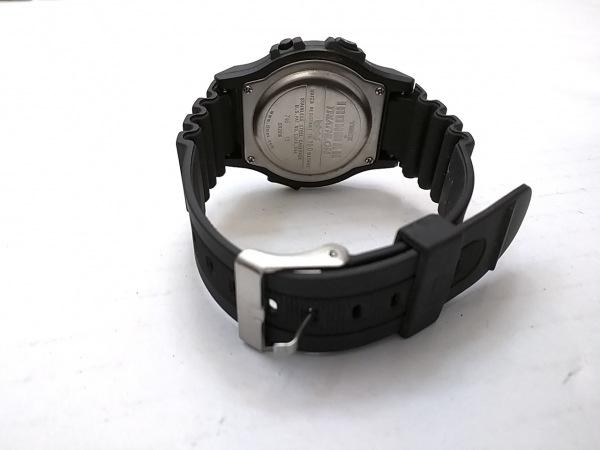 TIMEX(タイメックス) 腕時計 INDIGLO CR2016 メンズ ラバーベルト グレー