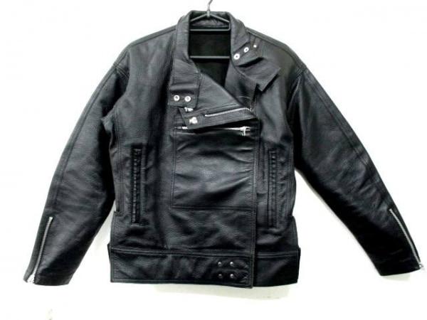 オープニングセレモニー ライダースジャケット サイズXS XS レディース 黒