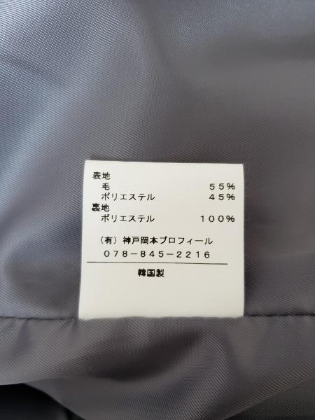 PROFILE(プロフィール) コート サイズ38 M レディース グレー 冬物