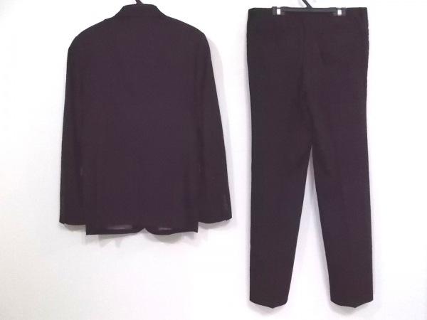 COMME CA ISM(コムサイズム) シングルスーツ サイズM メンズ 黒 ストライプ