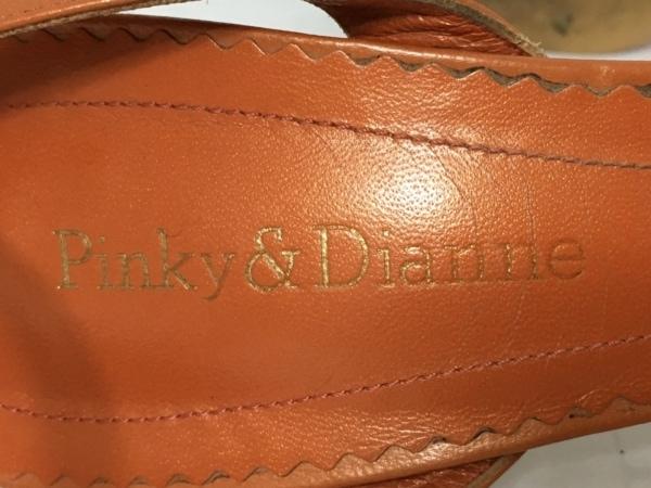 Pinky&Dianne(ピンキー&ダイアン) サンダル 37 2/1 レディース ブラウン レザー