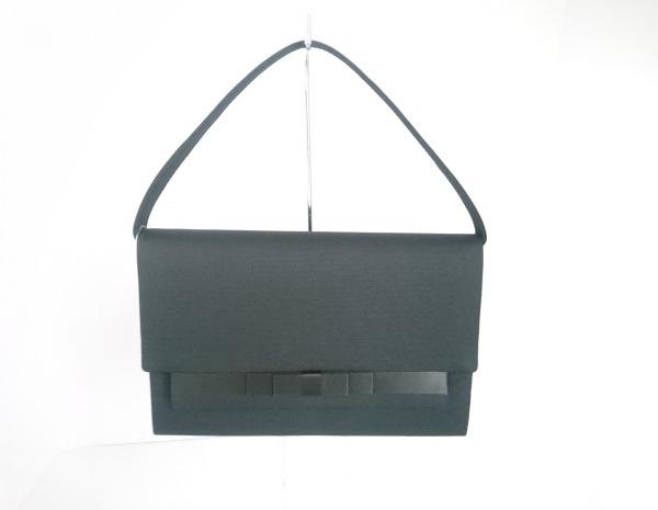 PETITSOIR(プチソワール) ハンドバッグ 黒 化学繊維