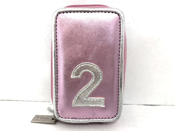 Dior Beauty(ディオールビューティー) 小物入れ ピンク ミラー 合皮