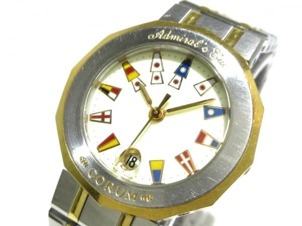 CORUM(コルム) 腕時計 アドミラルズカップ 39.610.21V-52 レディース アイボリー