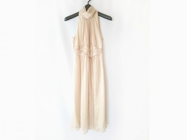 CEST LAVIE(セラヴィ) ドレス サイズ7 S レディース ベージュ タートルネック