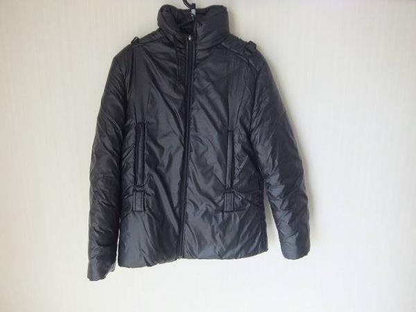 FENDI jeans(フェンディ) ダウンコート サイズ42(I) M レディース ダークグレー 冬物