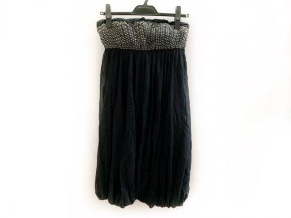 VIVIENNE TAM(ヴィヴィアンタム) ドレス サイズ1 S レディース美品  黒×白