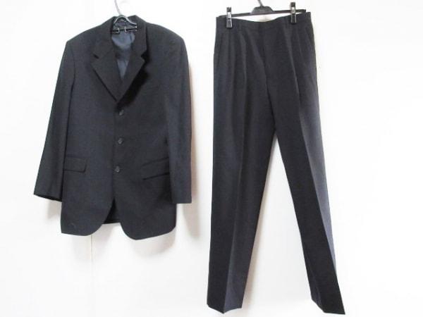 DURBAN(ダーバン) シングルスーツ メンズ 黒×ネイビー×ダークブラウン