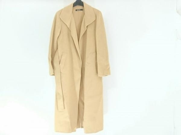 DKNY(ダナキャラン) コート サイズ4 XL レディース ライトブラウン 冬物