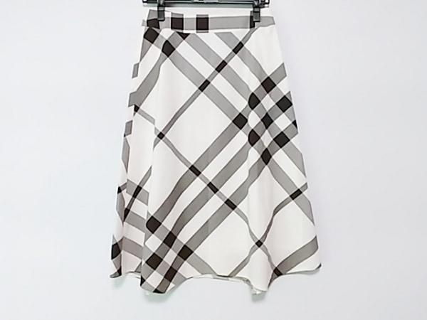 バーバリーロンドン ロングスカート サイズ36 M レディース美品  チェック柄