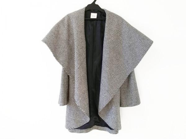 Miia(ミーア) コート サイズF レディース 黒×白 千鳥格子/冬物