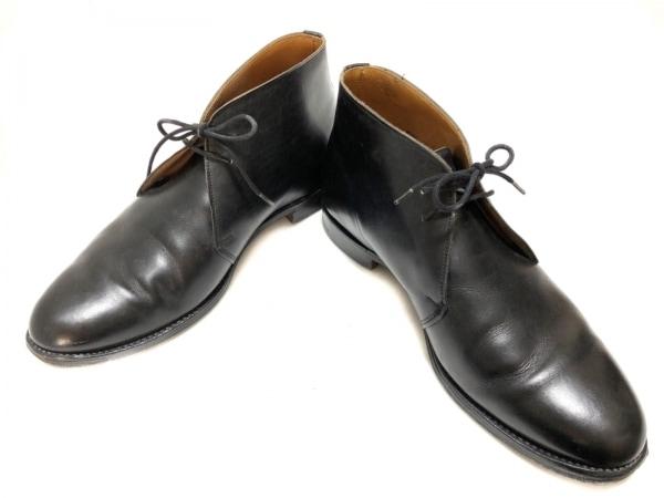 Lloyd Footwear(ロイドフットウェア) ショートブーツ 6 1/2 メンズ 黒 レザー
