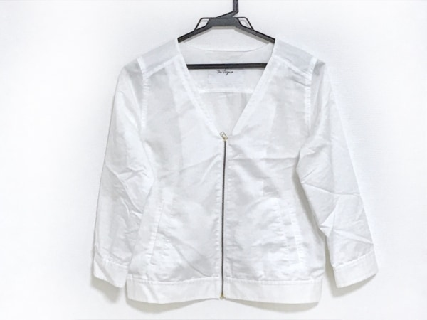 The Virgnia(ザ ヴァージニア) ジャケット サイズ900 レディース 白 ジップアップ
