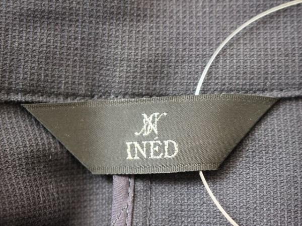 INED(イネド) レディースパンツスーツ レディース ネイビー ストライプ