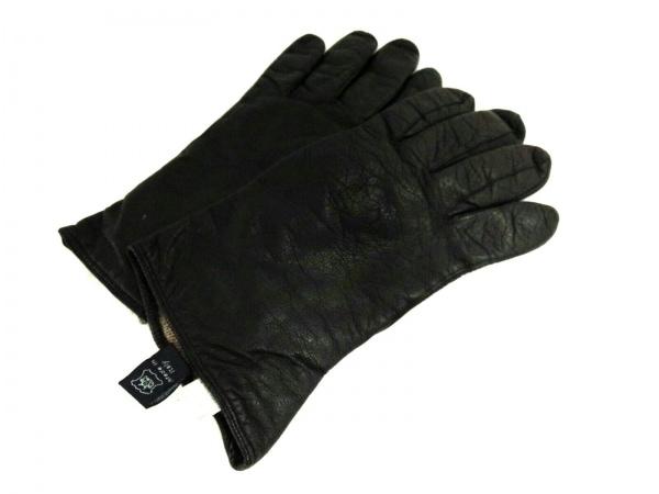 MADOVA(マドヴァ) 手袋 レディース 黒 レザー