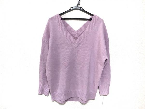 DEUXIEME CLASSE(ドゥーズィエム) 七分袖セーター レディース ピンク
