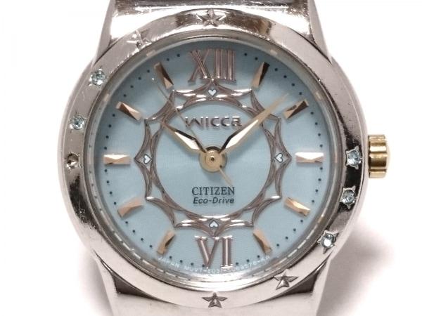 CITIZEN(シチズン) 腕時計 wicca E031-S042666 レディース ライトブルー