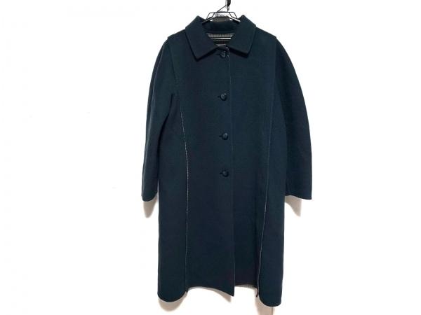 HERNO(ヘルノ) コート サイズ44 L レディース  ネイビー 冬物