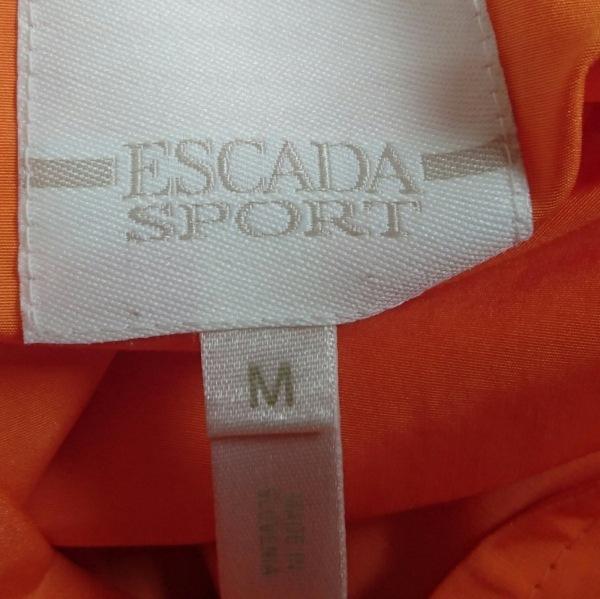 ESCADA(エスカーダ) コート サイズM レディース美品  オレンジ SPORT/春・秋物